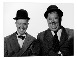 Cuadro de PVC  Laurel and Hardy: Nothing but trouble
