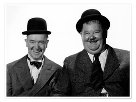 Póster Laurel and Hardy: Nothing but trouble