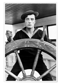Póster  THE NAVIGATOR, Buster Keaton, Kathryn McGuire