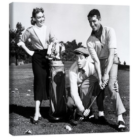 Lienzo  THE CADDY, Donna Reed, Jerry Lewis, Dean Martin