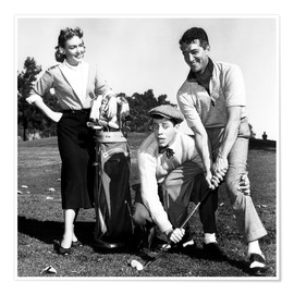 THE CADDY, Donna Reed, Jerry Lewis, Dean Martin