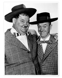 Póster JITTERBUGS, Oliver Hardy, Stan Laurel