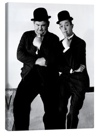 Lienzo  LIBERTY, Oliver Hardy, Stan Laurel