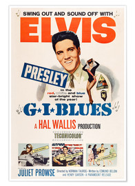 Póster  G.I. BLUES