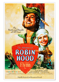 Póster The Adventures of Robin Hood