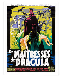 Póster THE BRIDES OF DRACULA (LES MAITRESSES DE DRACULA), David Peel