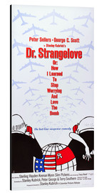Cuadro de aluminio  DR. STRANGELOVE OR: HOW I LEARNED TO STOP WORRYING AND LOVE THE BOMB