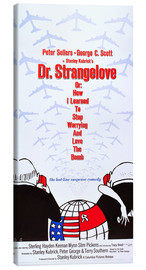 Lienzo  DR. STRANGELOVE OR: HOW I LEARNED TO STOP WORRYING AND LOVE THE BOMB