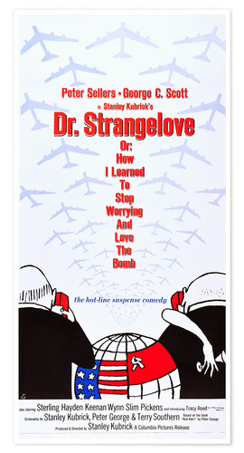 Póster DR. STRANGELOVE OR: HOW I LEARNED TO STOP WORRYING AND LOVE THE BOMB