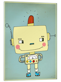 Metacrilato  Robbie robot in love - Little Miss Arty