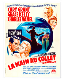 Póster TO CATCH A THIEF, (LA MAIN AU COLLET), Cary Grant, Grace Kelly