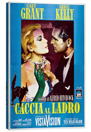 Lienzo  TO CATCH A THIEF (CACCIA AL LADRO), Grace Kelly, Cary Grant