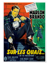 Póster ON THE WATERFRONT, (SUR LES QUAIS), Marlon Brando