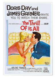 Póster  THE THRILL OF IT ALL, Doris Day, James Garner
