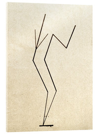 Cuadro de metacrilato  Analytical drawing after photos of dancing?.. - Wassily Kandinsky