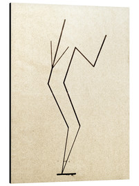 Aluminio-Dibond  Analytical drawing after photos of dancing?.. - Wassily Kandinsky
