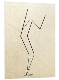 Cuadro de PVC  Analytical drawing after photos of dancing?.. - Wassily Kandinsky