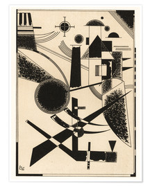 Póster Lithograph No III