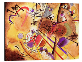 Aluminio-Dibond  Small dream in red - Wassily Kandinsky