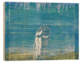 Cuadro de madera  In the Forest I - Edvard Munch