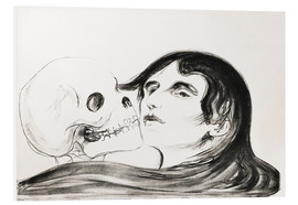 Cuadro de PVC  Kiss of Death - Edvard Munch