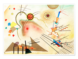 Póster  Watercolour No. 606 - Wassily Kandinsky