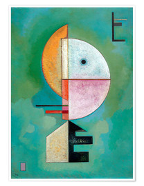 Póster  Upwards - Wassily Kandinsky