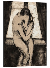 Aluminio-Dibond  The Kiss - Edvard Munch