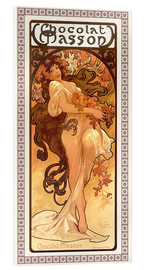 Alfons Mucha - Chocolat Masson, Summer