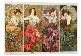 Forex  The precious stones - Alfons Mucha