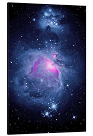 Cuadro de aluminio  Orion Nebula M 42 and Running Man Nebula - MonarchC