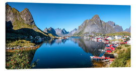 Lienzo  Summer on Lofoten Islands - Sascha Kilmer