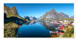 Póster  Summer on Lofoten Islands - Sascha Kilmer