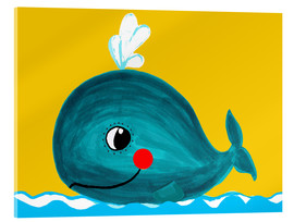 Metacrilato  Frida, the friendly whale - Little Miss Arty