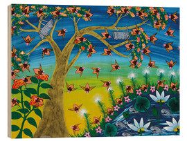 Majidu - Bees on a tree