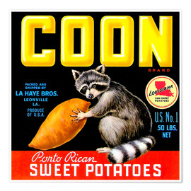 Póster  Coon - Advertising Collection