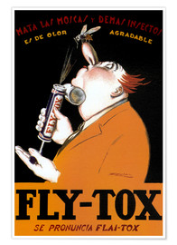 Póster Fly Tox