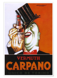 Póster Vermuth Carpano