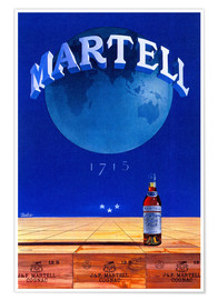 Póster  Martell Cognac - Advertising Collection