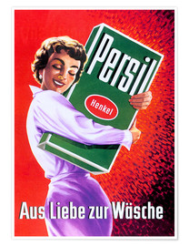 Póster  Persil - For the love of lingerie