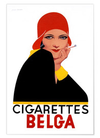 Póster  Cigarettes Belga - Advertising Collection