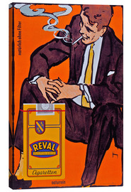 Lienzo  Reval Naturrein Cigaretten - Advertising Collection