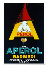 Póster  Aperol Barbieri - Advertising Collection