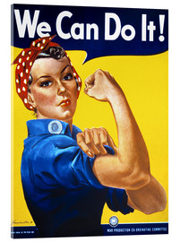 Cuadro de metacrilato  We Can Do It - Advertising Collection