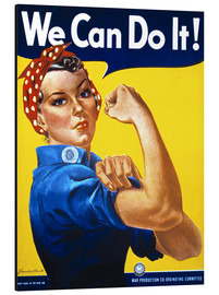 Cuadro de aluminio  We Can Do It - Advertising Collection