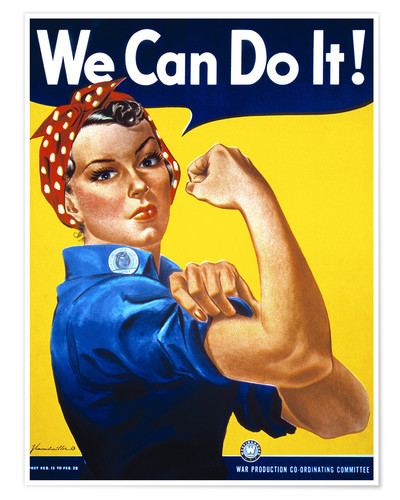 Póster We Can Do It