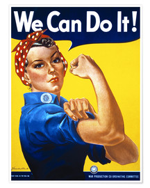 Póster  We Can Do It - Advertising Collection