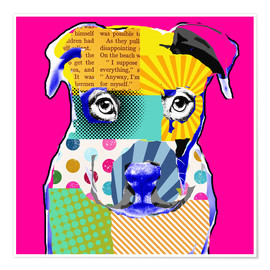 Póster Pop Art Bulldogge