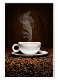 pixelliebe - Coffee cup bean aroma