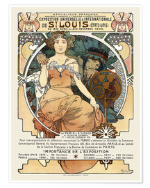 Póster St. Louis World's Fair 1904